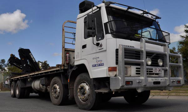 12 Tonne Trucks with crane