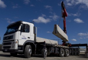 cemen concrete barriers move