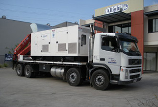 Generators Move Truck Hire Brisbane